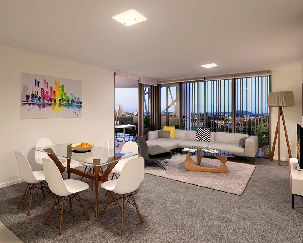 Vantage Lutwyche Apartments Brisbane CBD